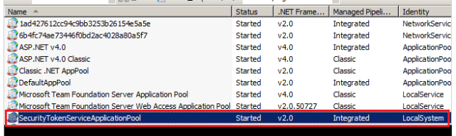 1 App pools