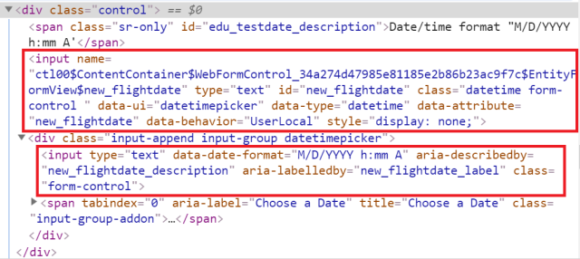 How to set value for date-time field by JavaScript in CRM